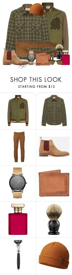 """""""MY BOY"""" by stylish1475 ❤ liked on Polyvore featuring Kolor, Dakota Grizzly, Urban Pipeline, MVMT, Levi's, ORMONDE JAYNE, The Art of Shaving and Columbia"""