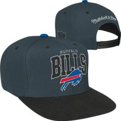 Buffalo Bills Mitchell  amp  Ness Arch Logo 2-Tone Snapback Hat by Mitchell   amp 04c79c583