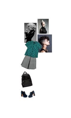 """""""M is for MARC JACOBS and MOHAWKS"""" by zlata ❤ liked on Polyvore featuring Marc Jacobs, PolkaDots, backpack and mohawk"""