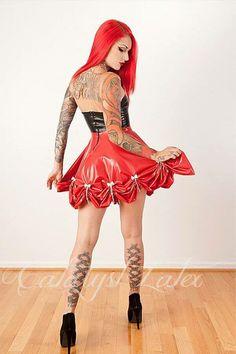 Cute latex dress