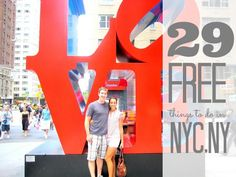 "New York activities: What to do in New York City for free ""Travelling to NYC is on my bucket list! This list is sure to come in handy! 29 awesome free things to do in nyc, ny! Oh The Places You'll Go, Places To Travel, Travel Destinations, A New York Minute, Empire State Of Mind, New York City Travel, Free Things To Do, Cheap Things, To Infinity And Beyond"