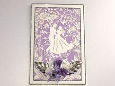 Hochzeitskarten - Karte zur Verlobung Nr. 582 - ein Designerstück von MM-Bastelparadies bei DaWanda Etsy, Paper Mill, Newlyweds, Invitations, Crafting
