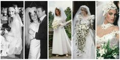 Let's embark on a 100-year journey through the history of nuptials, shall we?
