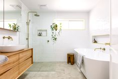 Interiors Addict bathroom reveal: before & after - The Interiors Addict - You know that old cliché about saving the best until last? I think we may have just done that wi - Bathroom Renos, Bathroom Wall Decor, Bathroom Layout, Bathroom Interior Design, Bathroom Renovations, Modern Bathroom, Small Bathroom, Bathroom Ideas, Master Bathroom
