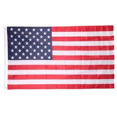 Soccer Nation Flag USA (3ft x 5ft, 150x90cm)
