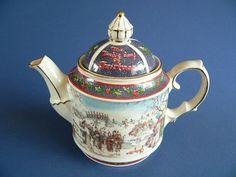 RARE Sadler 12 Days of Xmas Teapot with The Carol Lyrics | eBay