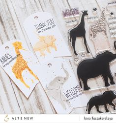 Altenew July 2015 Release Blog Hop | Baby Zoo stamp set