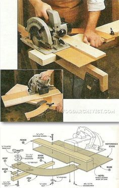Circular Saw Cut Off Jig - Circular Saw Tips, Jigs and Fixtures | WoodArchivist.com
