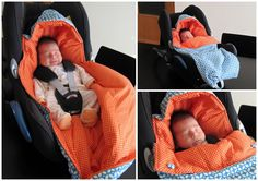 Slaapzakje voor in maxi cosy Baby Diy Projects, Sewing Projects For Kids, Sewing For Kids, Baby Sewing, Diy For Kids, Sewing Kids Clothes, Baby Kids Clothes, Stokke Newborn, Diy Bebe