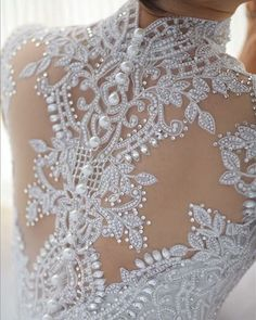 back details pearls and lace onds). In Latino communities a quinceanera is a… Bridal Dresses, Wedding Gowns, Wedding Bells, Dresses Elegant, Beautiful Dresses, Gown Photos, Pearl And Lace, Here Comes The Bride, Marry Me