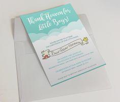 Personalized Baptism Invitation