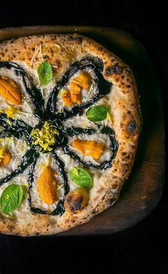 You're going to need to try the uni pizza at Prova.