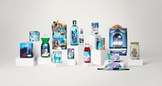 the full range of artist-designed products available from 'Supermarket' atLondon's Design Musuem, open from21- 25 April Camille Walala, Box Design, Free Design, Coffee Jars, Henry Wong, London Museums, The Chemical Brothers, Museum Tickets, Gin Brands
