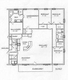 Barndominium Floor Plans Barndominium Floor Plans 1 800 691