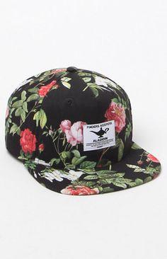 x Disney Aladdin Floral Snapback Hat