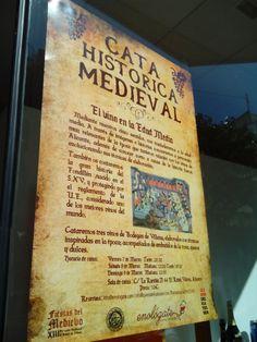 Con Elena Estevan, Pablo Martínez, Raúl Domene en la #EdadMedia #cata histórica medieval #vino http://enologate.com/enologamos-las-fiesta-del-medievo-en-villena/