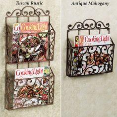 Lavinia Wall Magazine Rack