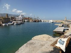 Bag Chillin' at Kyrenia (Girne) Harbour