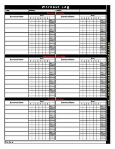 Download workout template 28