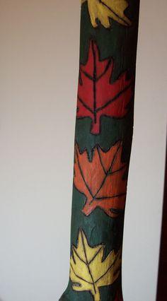 Decorative Hiking Sticks   Melzart Decorative Painting