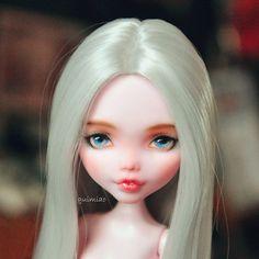 #monsterhigh #doll #dollstagram #bjd #ooak #handpaint #handpaint #faceup