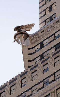 Chrysler Building Art Deco Details