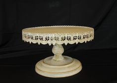 Antique Cake Stand 16""