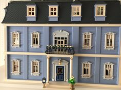 """""""Well the new dollhouse doesn't look that bad. if you just customize it a little 🙊 Victorian, Mansions, Twitter, House Styles, Home Decor, Playmobil, Luxury Houses, Interior Design, Home Interior Design"""