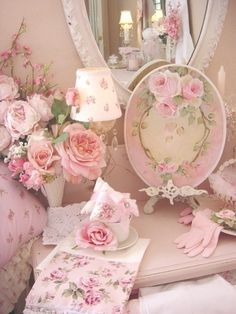 DECOR AUX ROSES...