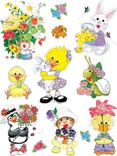 Suzy's Zoo stickers