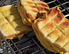 Braaibroodjies......my mom and dad always make these when we visit..Steve has made these, too. Lekker, leeker kos!!