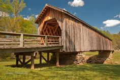 Auchumpkee Creek Bridge in middle Georgia, USA. Originally built in 1892, it was rebuilt in 1997 and now sits in a small park beside a country road. by wexfenne24, via Flickr
