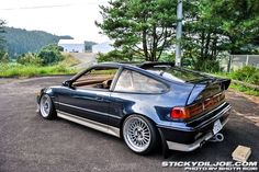 Feel free to submit your own vehicles/photos! Honda Crx, Honda Civic Hatchback, Civic Jdm, My Dream Car, Dream Cars, Japan Motors, Samurai, Tuner Cars, Exotic Cars