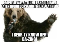 If you ever see a Polar Bear, give him some anti-depressent medication. Polar Bear Funny, Funny Bears, Black Bear, Brown Bear, Animal Memes, Funny Animals, Panda Bear, Comedians, Funny Pictures