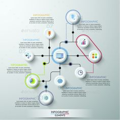 Modern Infographics Circle Template - Download: http://graphicriver.net/item/modern-infographics-circle-template/13764016?ref=ksioks