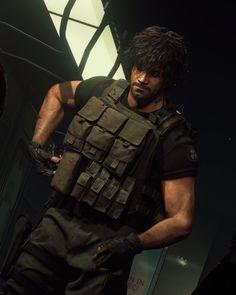 Carlos Resident Evil, Resident Evil Girl, Resident Evil 3 Remake, Operation Raccoon City, Valentine Resident Evil, Painting Templates, Evil Art, Jill Valentine, Board Games