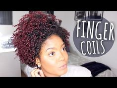 Finger Coils Look Great On Short Natural Hair… But On Tapered Fro? They Look Even Better - Black Women's Natural Hair Styles - A.A.H.V