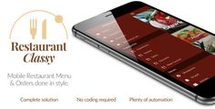 Free Download Restaurant Ionic Classy- Full Application with Firebase backend