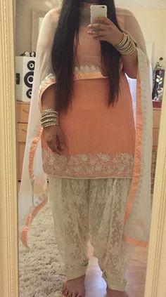 Punjabi Salwar Suits, Patiala Salwar, Anarkali, Lehenga, Punjabi Fashion, Indian Fashion, Women's Fashion, Indian Look, Indian Wear