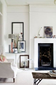 a stylist's home in london by the style house design design room design interior design My Living Room, Home And Living, Living Spaces, House Design Photos, Cool House Designs, Style At Home, Interior Styling, Interior Design, Modern Interior