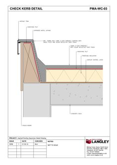 Detail Drawings, Why Asphalt? : Langley Waterproofing Systems Limited : A second to none Waterproofing partner