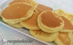 Érdekel a receptje? Hungarian Recipes, Hungarian Food, Pancakes, Low Carb, Gluten, Breakfast, Mille Crepe, Dutch, Griddle Cakes
