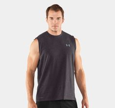 Men's UA Charged Cotton® Sleeveless T-shirt | 1217195 | Under Armour CA size:S