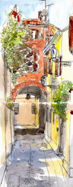 Urban Sketchers Italy: FERRARA seconda edizione de Autori Diari di Viaggio