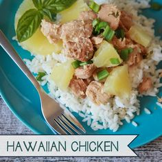 more freezer crockpot recipes- hawaiian chicken