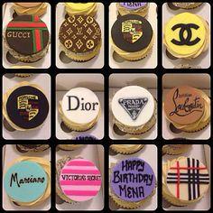 Gucci Cupcakes | Designer cupcakes, Gucci, Louis Vuitton, Porsche, Channel, Dior, Prada ...