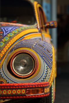 Full Feeling Simplicity | dentist04: Vochol Beaded VW Front by Mr.TinDC...