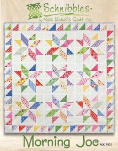 Morgen Joe-Schnibbles quilt Pattern von Miss von timelessquilts