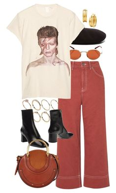 """""""Untitled #11649"""" by nikka-phillips ❤ liked on Polyvore featuring Oliver Peoples, Yves Saint Laurent, ASOS, Topshop, MadeWorn, Prada and Chloé"""