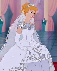 Image discovered by уυησ🥀. Find images and videos about girl, love and cute on We Heart It - the app to get lost in what you love. Disney Princess Cinderella, Disney Princess Drawings, Disney Princess Pictures, Disney Pictures, Disney Drawings, Vintage Disney Princess, Cinderella Wedding, Princess Aurora, Disney Nerd